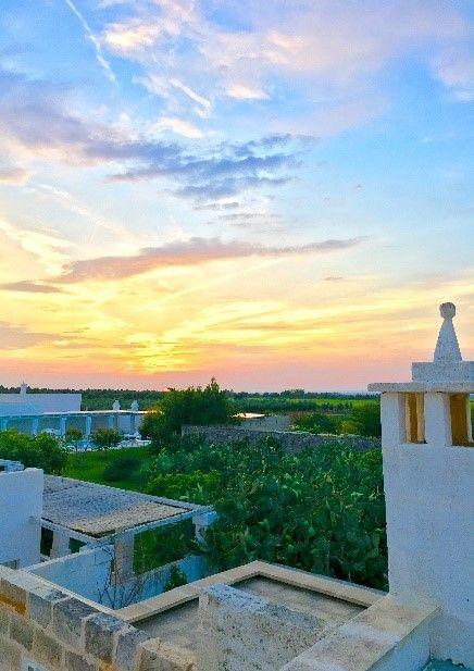 LOVELY SUNSET IN PUGLIA
