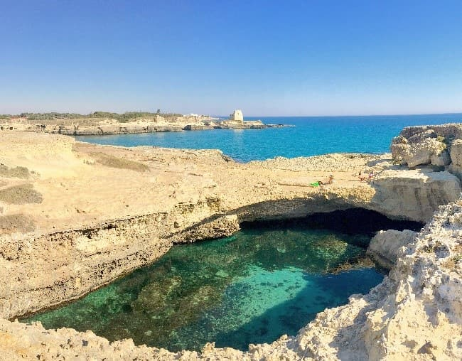 I was awestruck by the Punta Ristola vista point in Leuca.