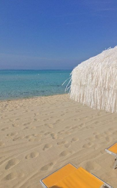 Enjoy white sands and peacefull beaches in Puglia