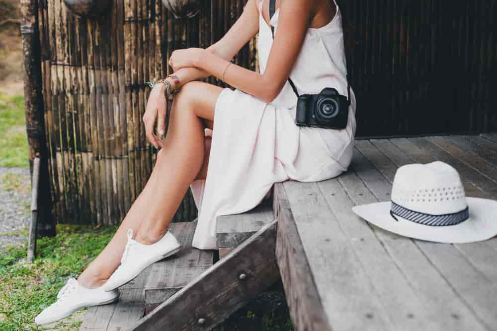 A white dress is a must in your closet in summer. You will use thousand of times