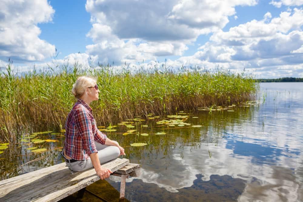 La naturaleza es una gran aliada para sentirte serena y tranquila. Aprovéchala