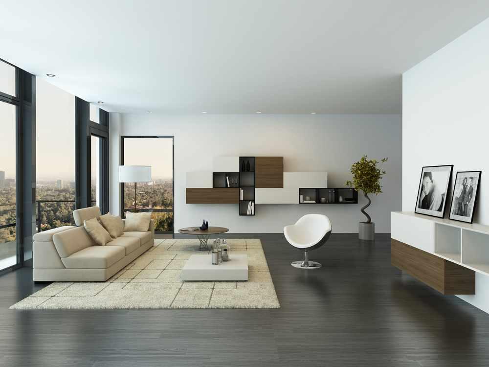 En la decoración minimalista la característica principal es el uso de pocos ibjetos y bien seleccionados.