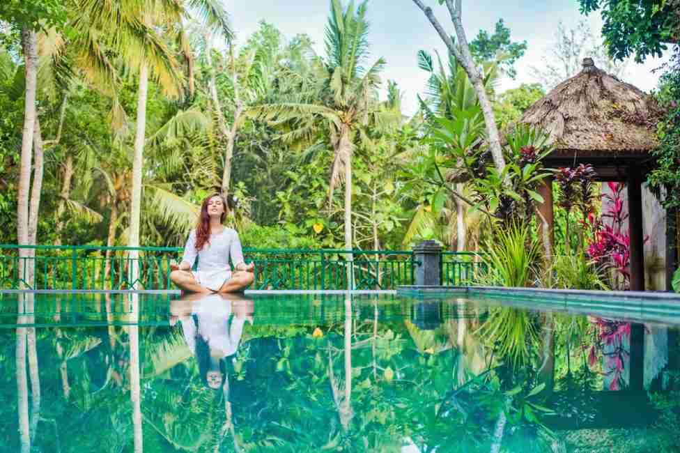 Un lugar de retiro como Bali es lo que necesitas para alinear tus pensamientos con tu espiritu.