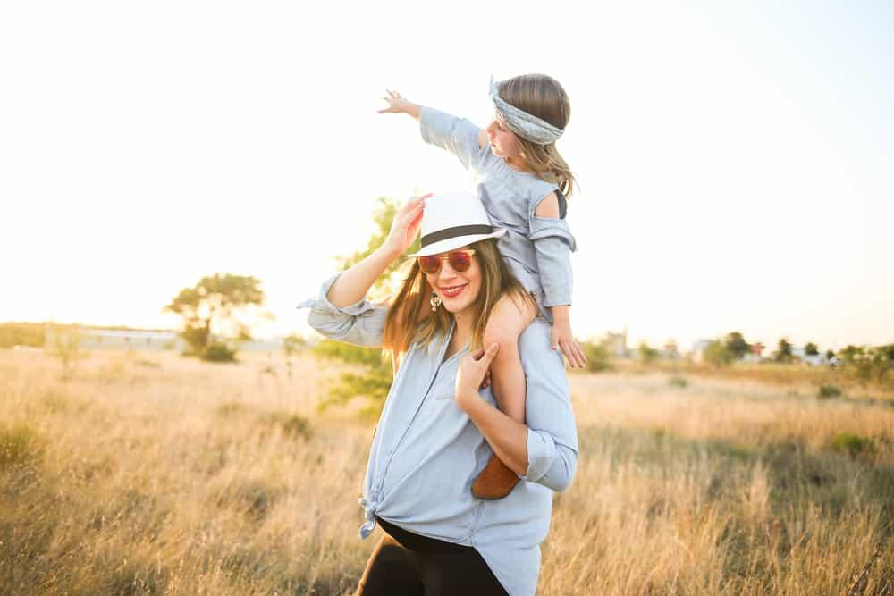 Tus hijos se sentirán felices de hacer matching outfit con su mami. Inténtalo