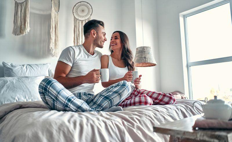 La creatividad es importantísima en la pareja. Hacer un Matching outfit para dormir es genial.