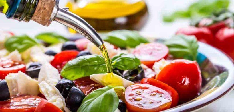 La dieta meditteránea es de las más recomendadas en el mundo por sus beneficios para la salud