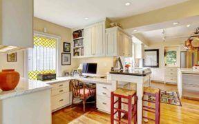 La cocina puede ser el mejor lugar para trabajar desde la casa