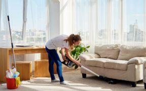 Las tareas del hogar te ayudan a quemar calorías mientras haces una actividad en pro de tu casa.